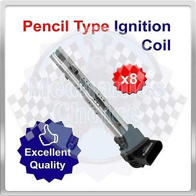 Premium Ignition Coil Pack Set for Audi S6 4.2 (08/99-12/04)