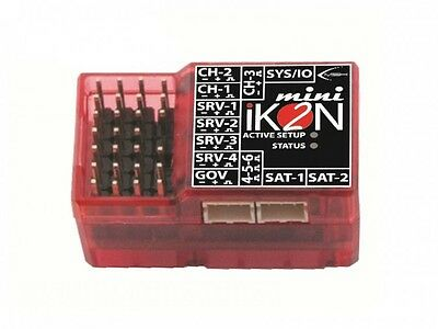 iKON2 Mini Flybarless Gyro System W/ Polarity Protection & Rescue Mode IKON2005