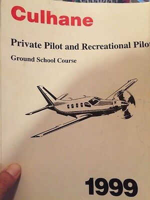 Culhane Private Pilot And Recreational Pilot Ground School Course Canadian Text