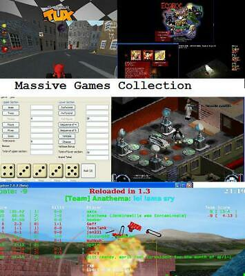 PC games massive Christmas Bundle Ideal Stocking filler for keen gamers all age