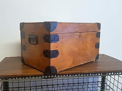 Vintage Industrial Storage Tool Box