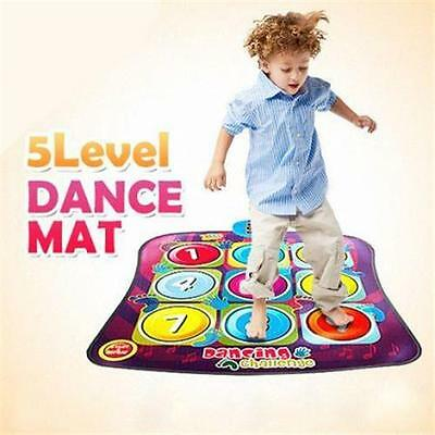 Kids Electronic Multi-Coloured Dancing Challenge Game Dance Playmat with Music