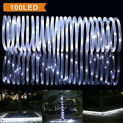 LTE 33 ft 100 LED  Outdoor Waterproof Solar Rope Lights (LTE-1259)  HCD