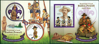 Mali Boy Scouts Baden-Powell Scouting MNH stamps set