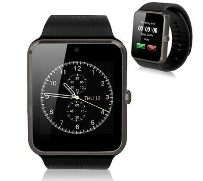 Bluetooth Smart Watch Armbanduhr für Iphone iOS mit Kamera SIM