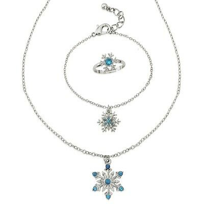 Frozen Jewellery Set - includes necklace, bracelet and ring