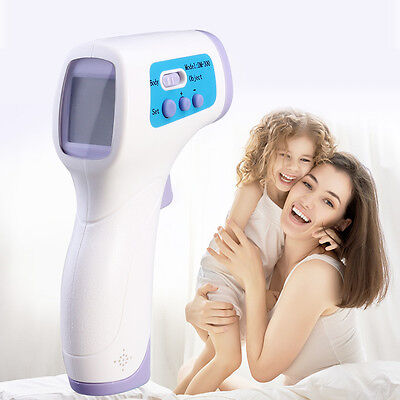 New Digital Infrared Body Thermometer Forehead Baby Adult Surface Temperature