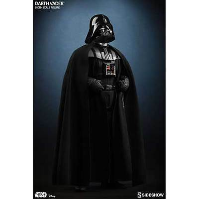 """Star Wars - Darth Vader Deluxe 12"""" 1:6 Scale Action Figure Sideshow Collectibles"""