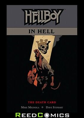 HELLBOY IN HELL VOLUME 2 DEATH CARD GRAPHIC NOVEL Paperback Collect Issues #6-10