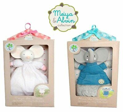 Meiya and Alvin Soft Baby Rattle Toy