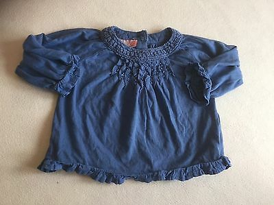 Baby Girls Clothes 3-6 Months - Monsoon T Shirt  Top  -We Combine Postage