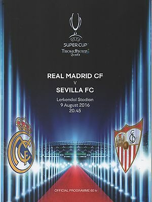 16/17 Real Madrid v Sevilla