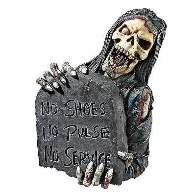 Grim Reaper Angel of Death Wall Hanging Statue Scary Halloween Gothic Decor Art