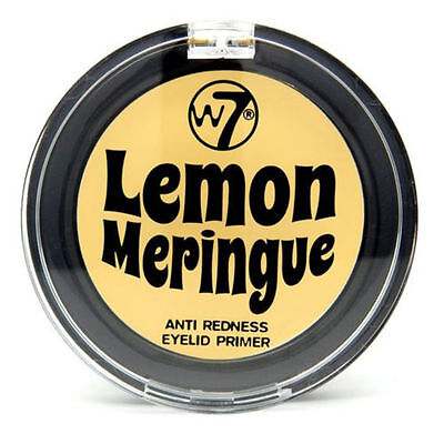 W7 Lemon Meringue Anti Redness Eyelid Eyeshadow Primer