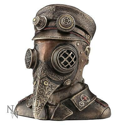 Nemesis Now Steam Doctor Steampunk Bust Trinket Box Plague Doctor In Raven Mask