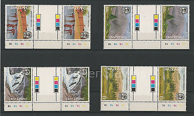 Swaziland 1991 National Heritage Gutter Pairs. MNH B2