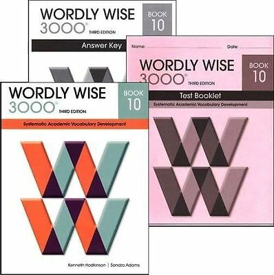 Wordly wise 3000 grade 4 set student and key new 3rd edition wordly wise 3000 grade 10 set studentanswer keytests 3rd ed fandeluxe Image collections