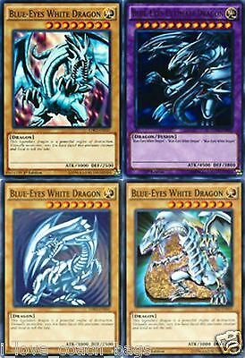 Blue-Eyes Ultimate Dragon Fusion Set LDK2 + 3 X Blue- Eyes White Dragon YUGIOH