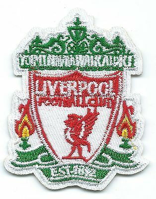 Liverpool FC Embroidered Patch Iron-on Motif Art Good Luck Magic Football