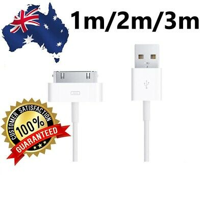 1m/2m/3m New USB Data Sync Charger Cable For iPhone 4 4s iPad 2/3 Cord Lead