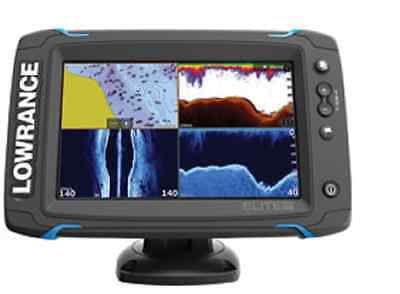Lowrance Elite-7 Ti Fishfinder/Chartplotter with TotalScan Transducer Brand new
