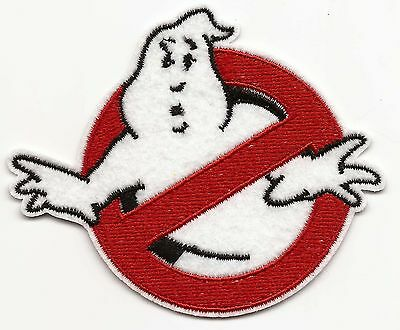 Ghostbusters Embroidered Patch Iron-on Motif 8.0x7.1cm Art Good Luck Magic
