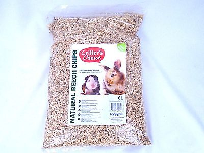 Beech Chippings 100% Natural Substrate Small Animals Hamster Gerbils Guinea Pigs