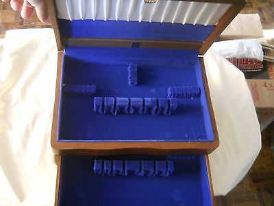 Birks Two Compartment Flatware Silverware Box Chest Canteen Canister
