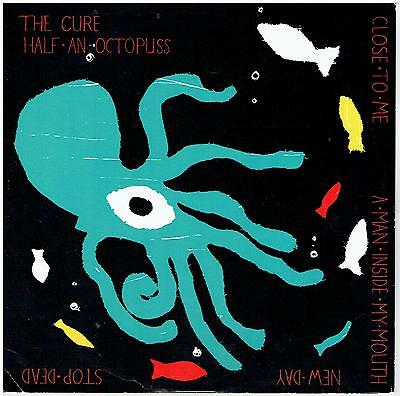 """THE CURE - Close To Me - Half An Octopuss EP  (Scarce 1985 UK 4-track 10"""" vinyl)"""