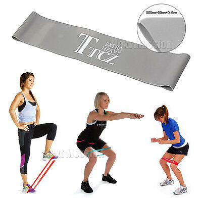 Resistance Exercise Loop Bands - Yoga |  Rehab | Crossfit |Pilates | Glute Bands