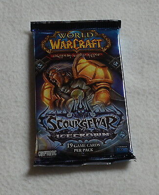 WoW - 1x Icecrown Booster - World of Warcraft TCG - Loot Chance OVP