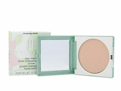 Clinique Stay-Matte Sheer Pressed Powder 7.6g 03 Stay Beige
