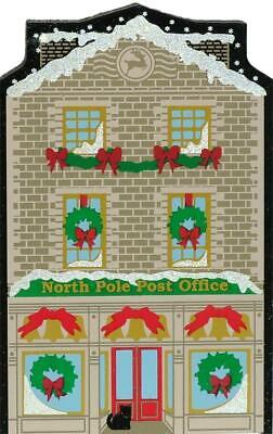 Cat's Meow Village Christmas North Pole Post Office #01-913 NEW Shipping DISC