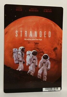 "Movie Backer Card ( Stranded ) Mini ""poster"" -This Is Not A Dvd"