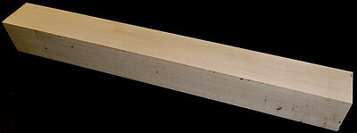 Hard Maple Wood Craft Wood Blanks 2x2x12 Handles Game Calls Woodworking Spindles