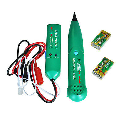 Telephone Phone Network RJ Cable Wire Line Tone Tracer Tracker Detector Tester