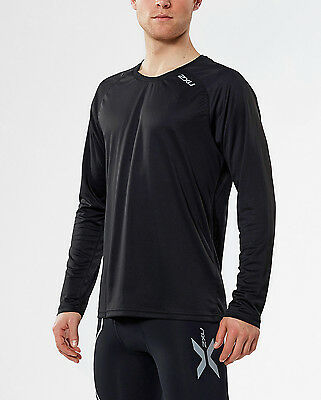 NEW 2XU TECH VENT Long Sleeve TOP Mens Shirts