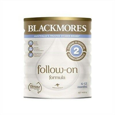 BLACKMORES BABY FORMULA FOLLOW ON 6-12 months STEP 2 900G X 6 TINS GENUINE