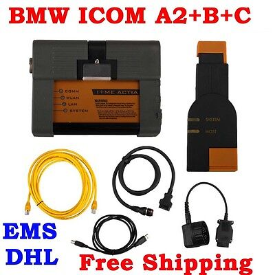 OBD2 For BMW ICOM A2+B+C Diagnostic & Programming Tool Without Software