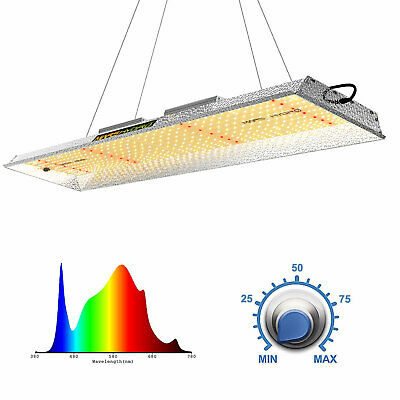 Mars 300W LED Grow Light Full Spectrum Hydro Veg Flower Indoor Plant Lamp Panel
