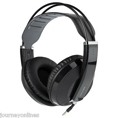 Superlux HD662EVO Closed-back Monitoring Headphones with Self-adjusting Headband