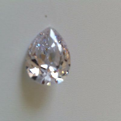 White - Pear Cubic Zirconia Loose Stones IF CZ  Lots - AAA  Wholesale USA