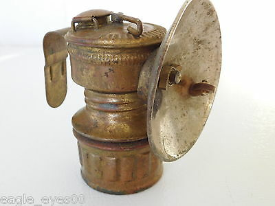 Antique Guys Dropper Miners Carbide Mining Light Universal Lamp Co Vintage