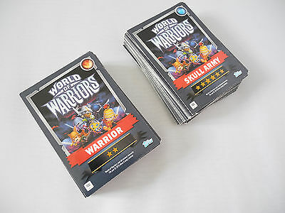 World of Warriors Topps Trading Game Card Bundle/ Set/ Lot x 100 2015 Skull Army