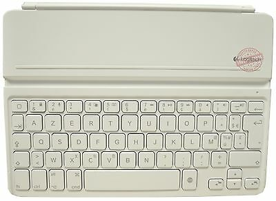 Logitech French AZERTY White Ultrathin Keyboard Cover for iPad Air