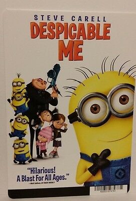 "Movie Backer Card ( Despicable Me ) Mini ""poster"" -This Is Not A Dvd"