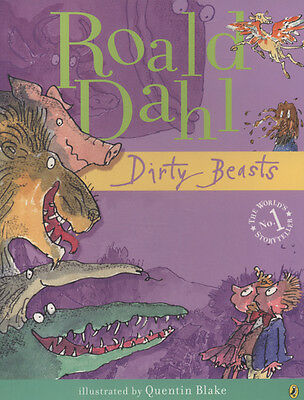 Dirty beasts by Roald Dahl (Paperback)