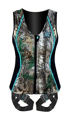 New 2015 Hunter Safety System Contour Ladies Harness M/L Realtree Xtra HSS-660