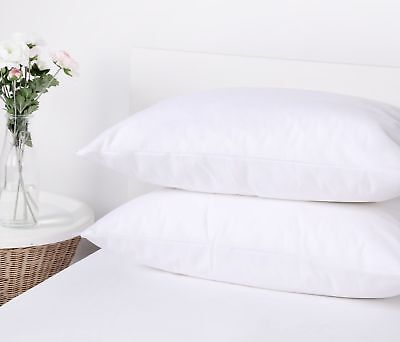 2X or 4X Standard/King Water Resistant Pillow Case Cover Protector Bug Blocking