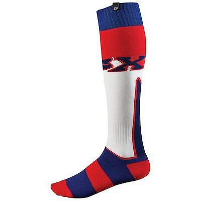 Fox FRI White/Red/Blue Imperial Socks